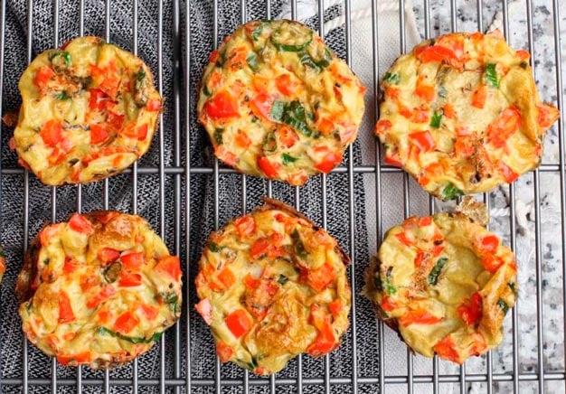 muffin de legumes low carb