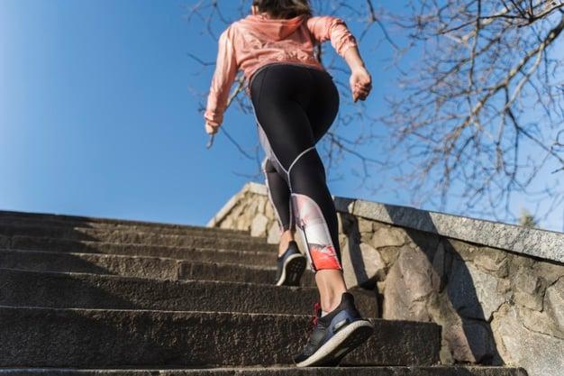 subir e descer escada emagrece