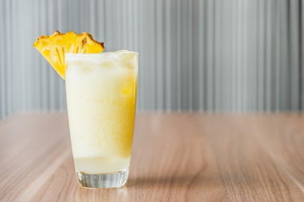 smoothie de amaranto com abacaxi