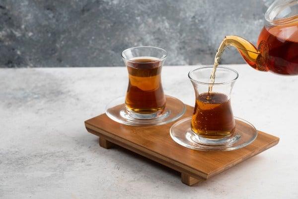 tomando chá de angélica