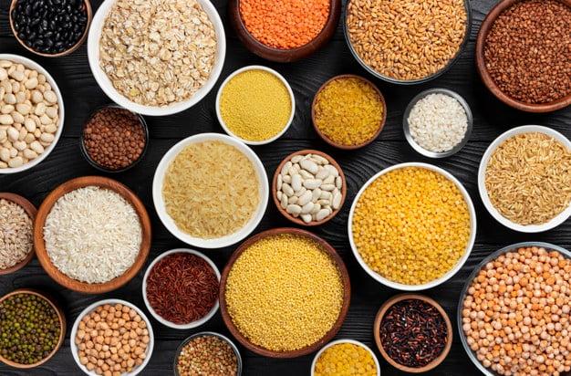 Cereais e tipos de milho