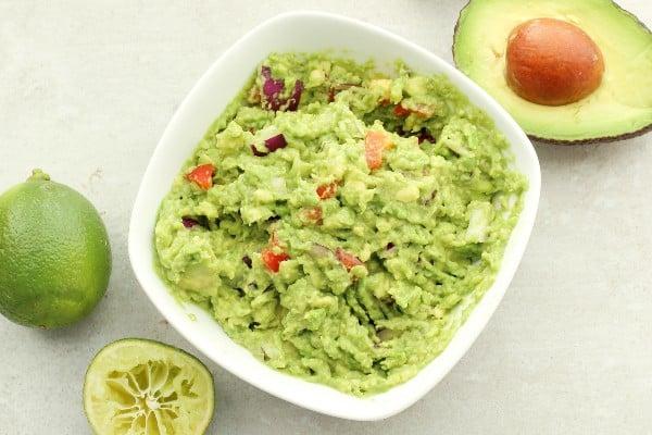 Guacamole - Comida mexicana engorda?