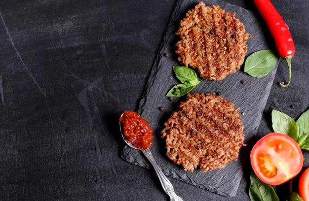 Hambúrguer caseiro simples