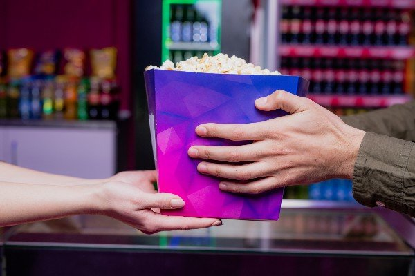 Pipoca de cinema