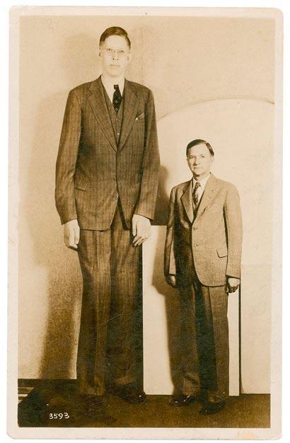 Robert Wadlow o homem mais alto do mundo