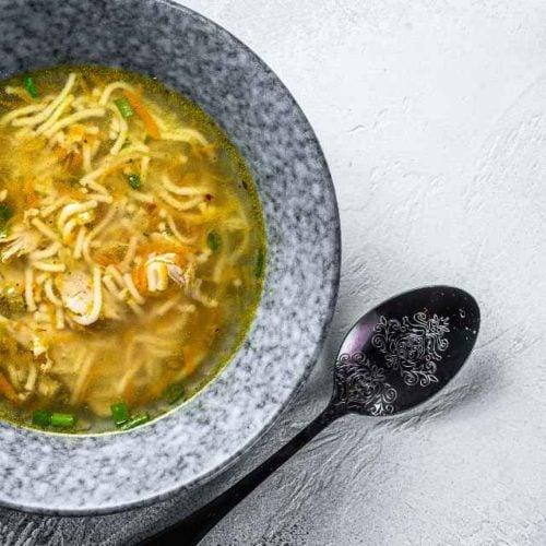 Sopa de açafrão