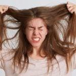 arrancar os cabelos