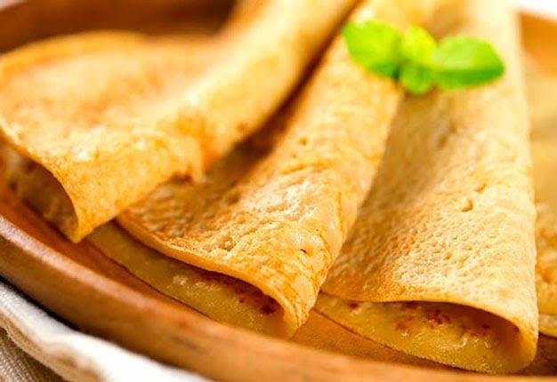 Panqueca com tapioca