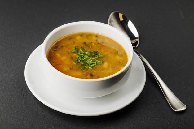 Receita de sopa de gengibre light com mandioquinha