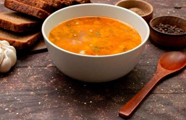 Receita de sopa de gengibre light com frango