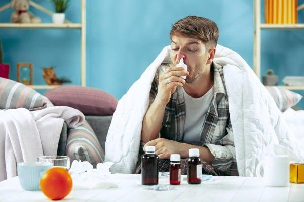 tratamento para nariz entupido