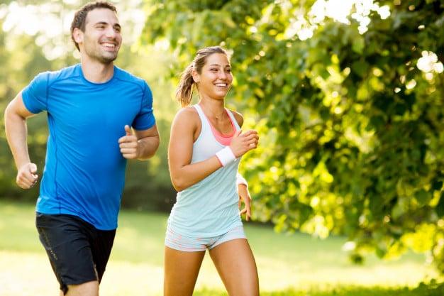 Correr exercício físico