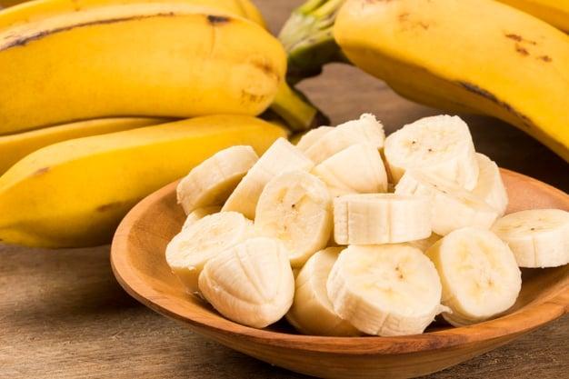 Bananas fatiadas