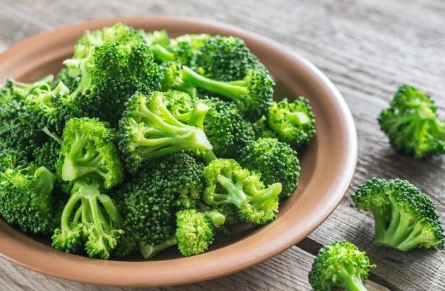 Brócolis é alimento regulador