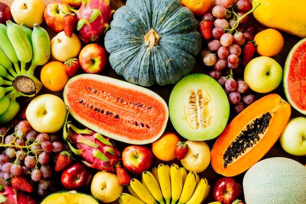 Principais frutas reguladoras