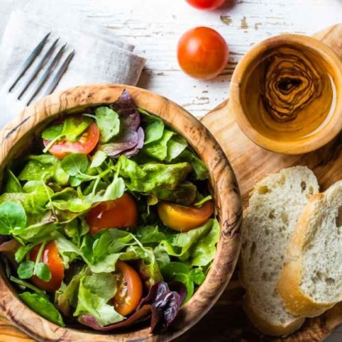 Salada de agrião