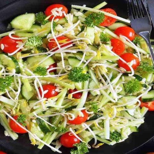Salada de broto