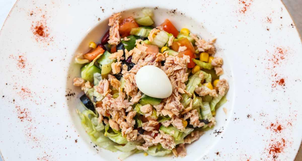 Salada para jantar