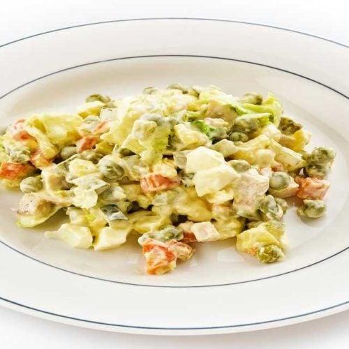 Salada de maionese light