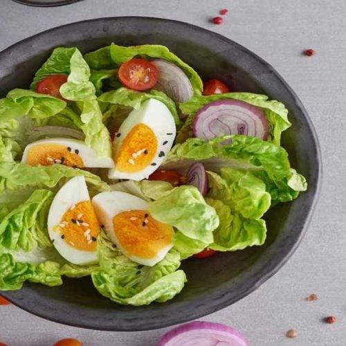 Salada de ovo