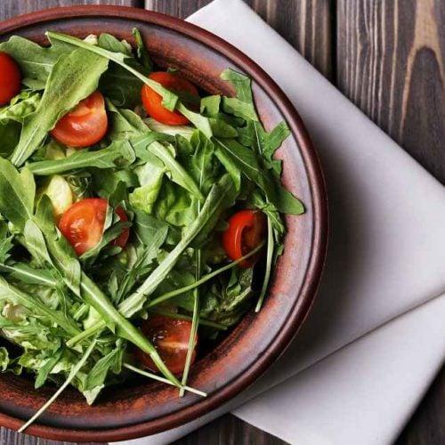 Salada de rúcula
