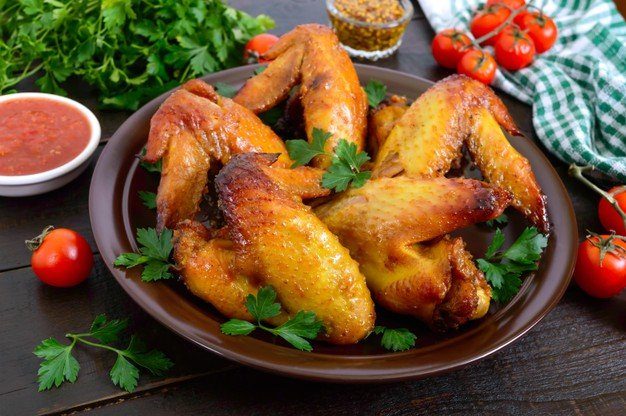 asinha de frango na Air Fryer