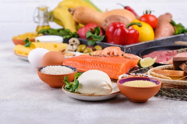 alimentos da dieta DASH