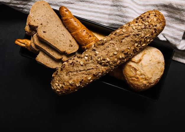 pães integrais