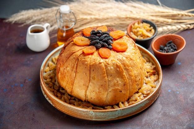 pão feito com farinha de arroz integral