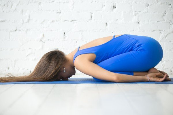 Balasana - Yoga antes de dormir