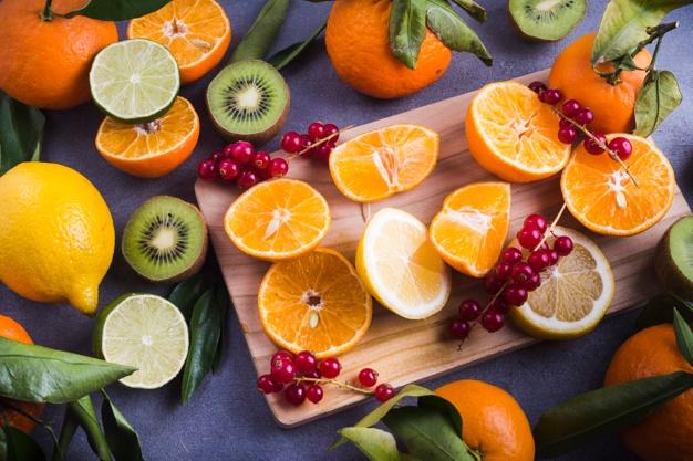 Fontes naturais de vitamina C