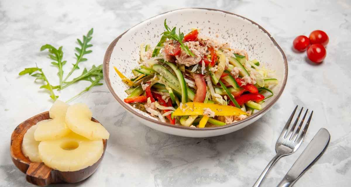 Salada de abacaxi