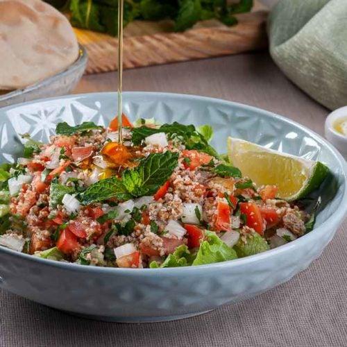 Salada árabe light