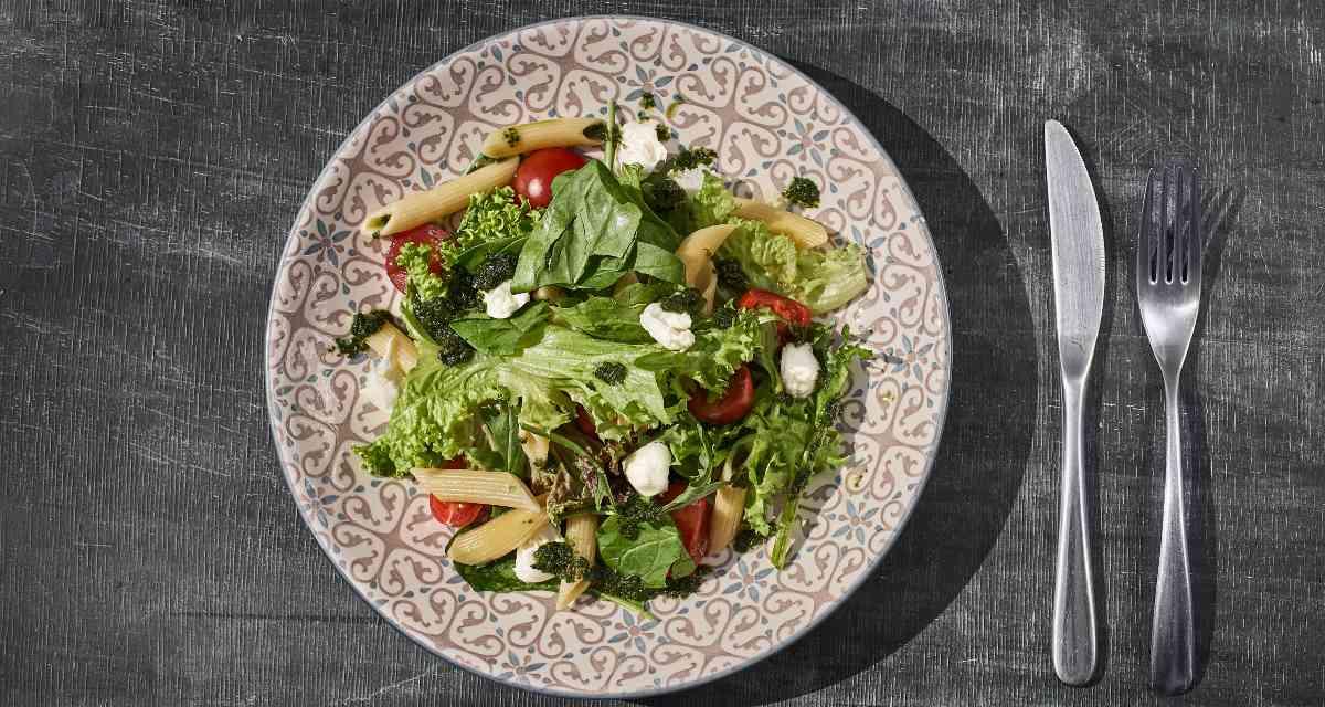 Salada de penne light