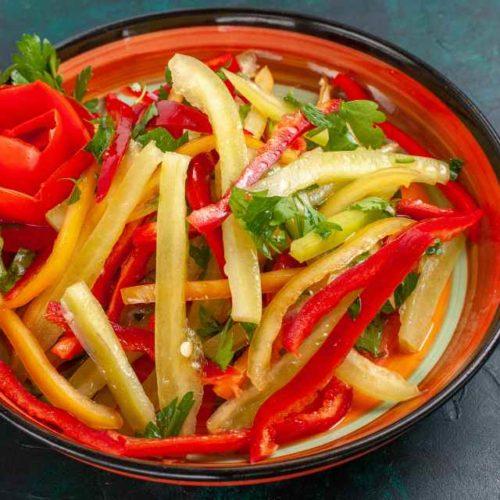 Salada de pimentão
