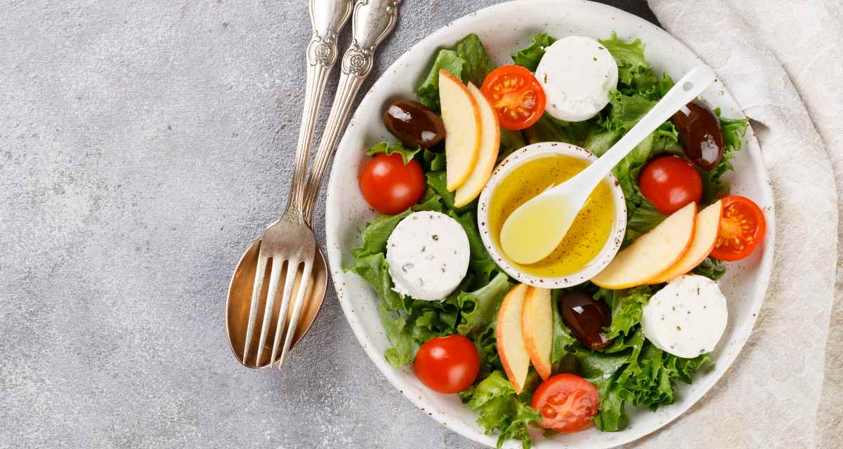 Salada de tomate-cereja