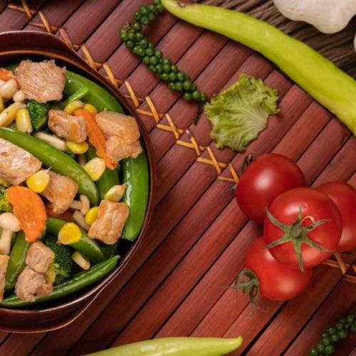 Salada de vagem