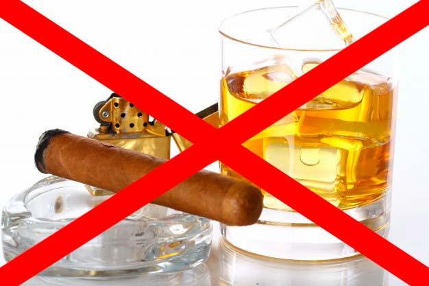 alcool e tabaco