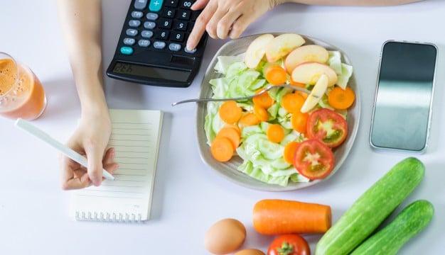 cálculo de calorias