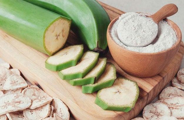 farinha de casca de banana