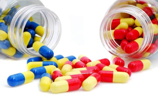 medicamentos dois frascos