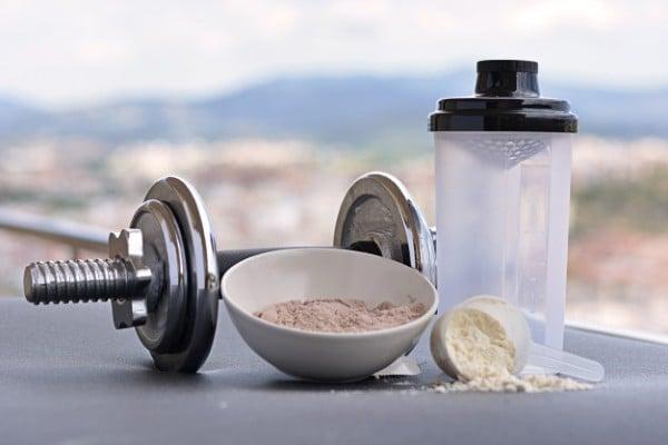 shake com whey protein