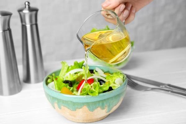 Salada com vinagre