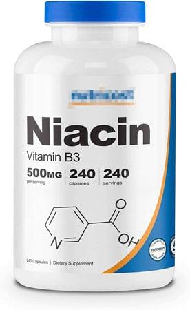 suplemento de niacina