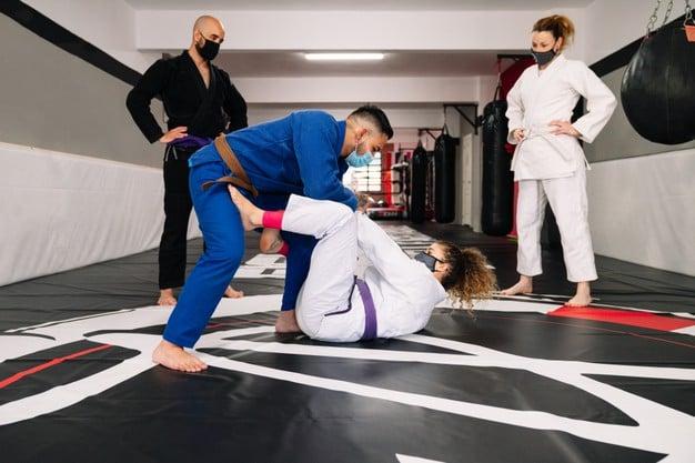 treinamento de jiu jitsu