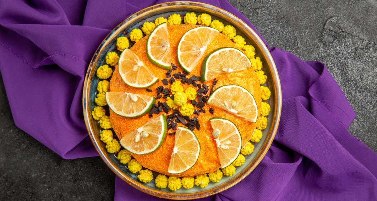 Bolo integral de limão