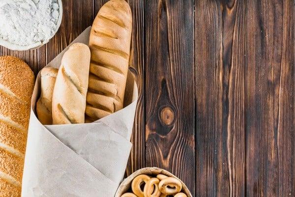 Pão e farinha