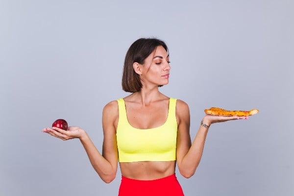 Fruta ou pizza