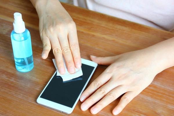 Limpeza do celular