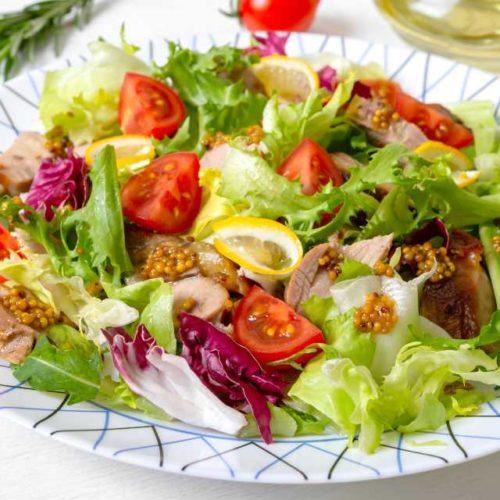 Salada de mostarda
